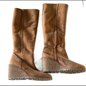 Coach Snow Boots Size 9